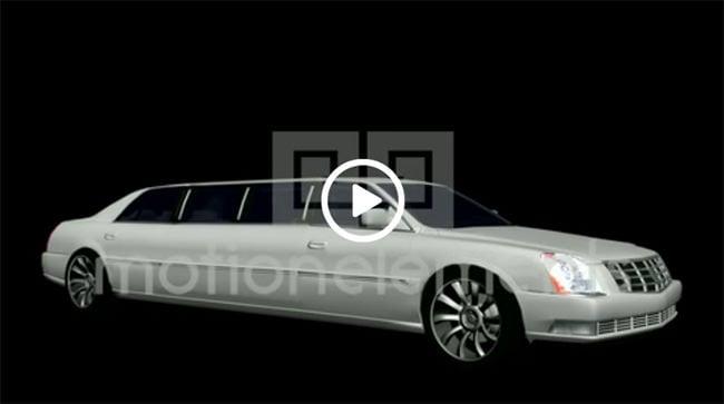 white limousine