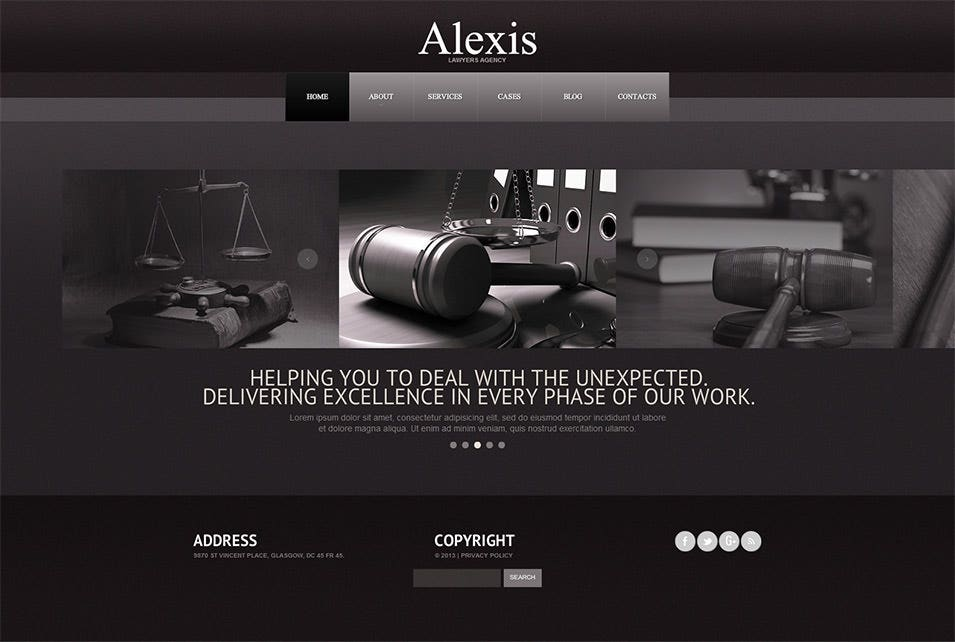 28+ Law Firms Website Themes & Template | Free & Premium Templates