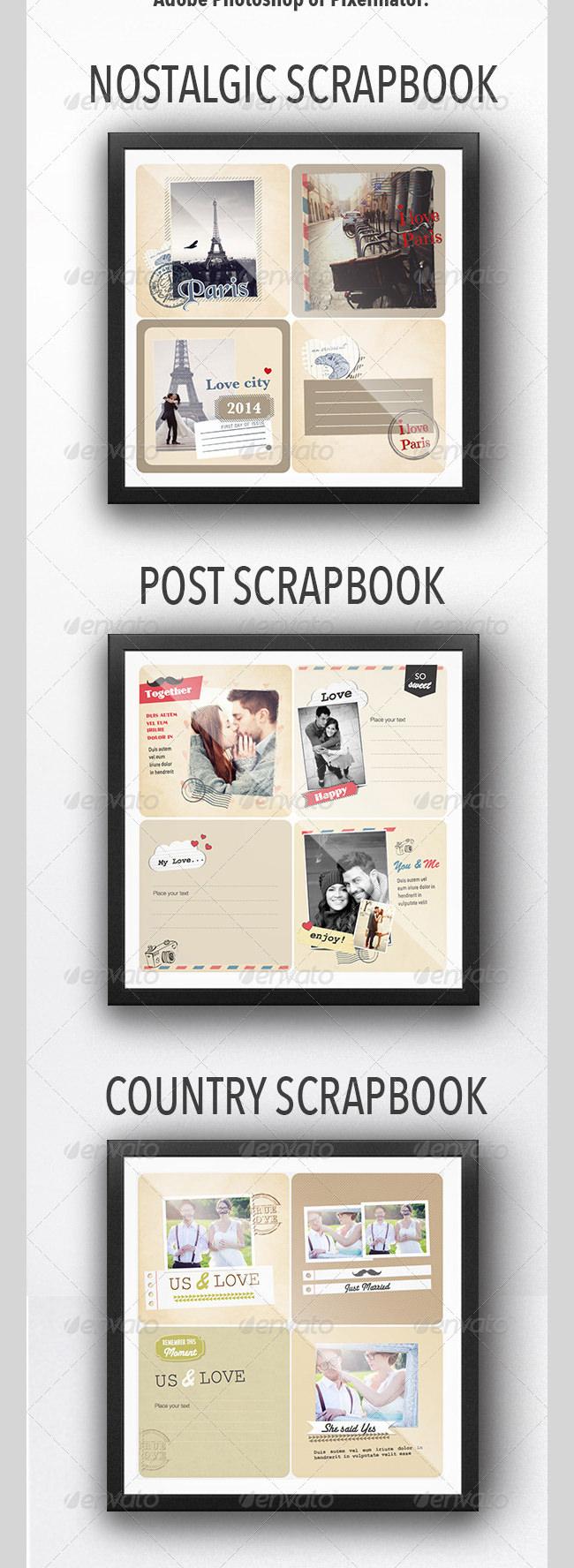 love scrap book
