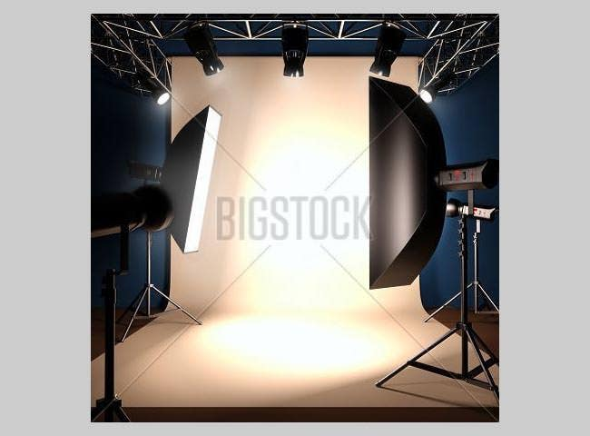 photo studio background template