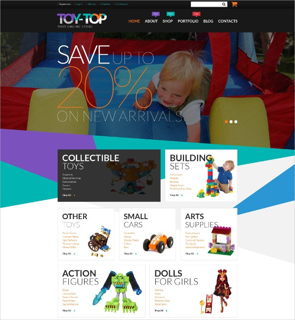 Free Toys Online Store WooCommerce Theme