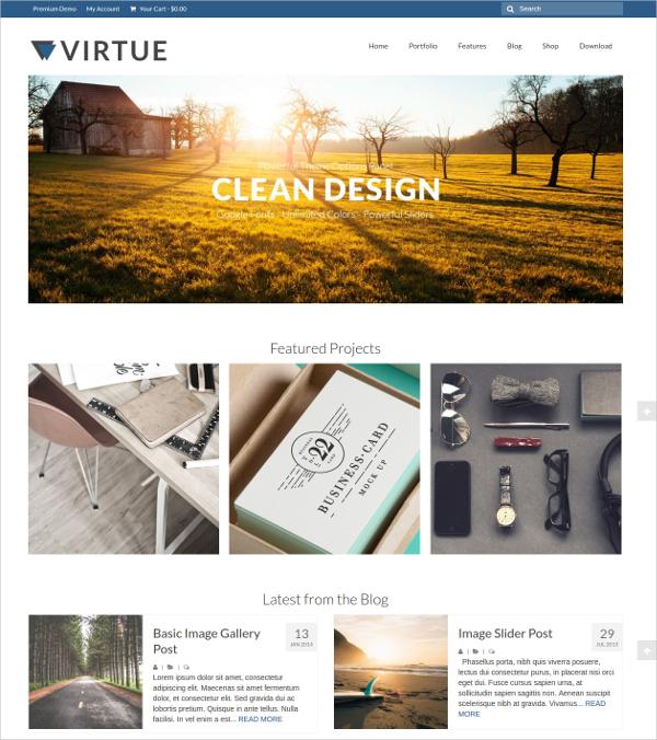 Free Responsive Design WordPress WooCommerce Theme