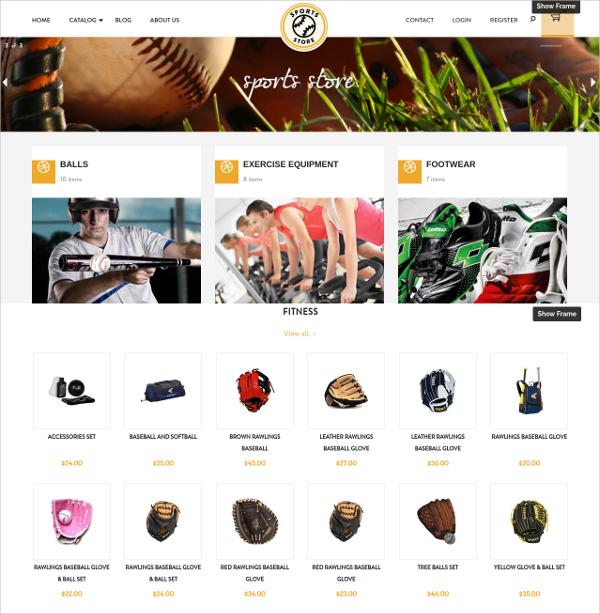 Free Sports Wear Store Shopify Theme