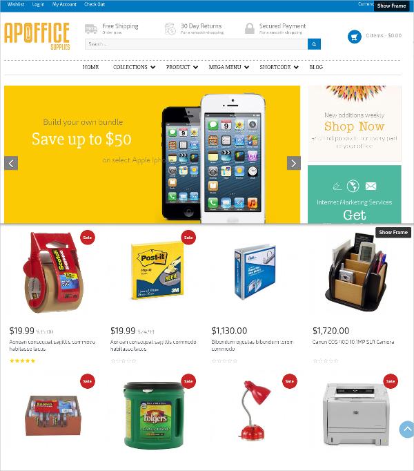 Free Electronic Gadgets Shopify Theme