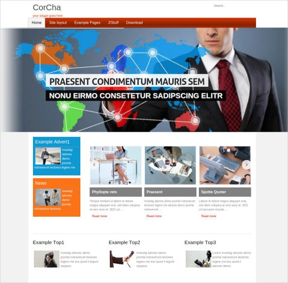 free responsive business joomla theme