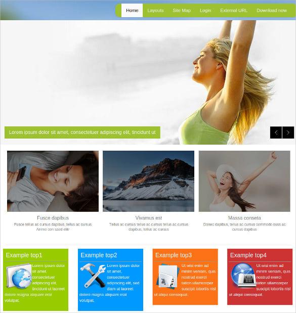 free multi purpose joomla website template