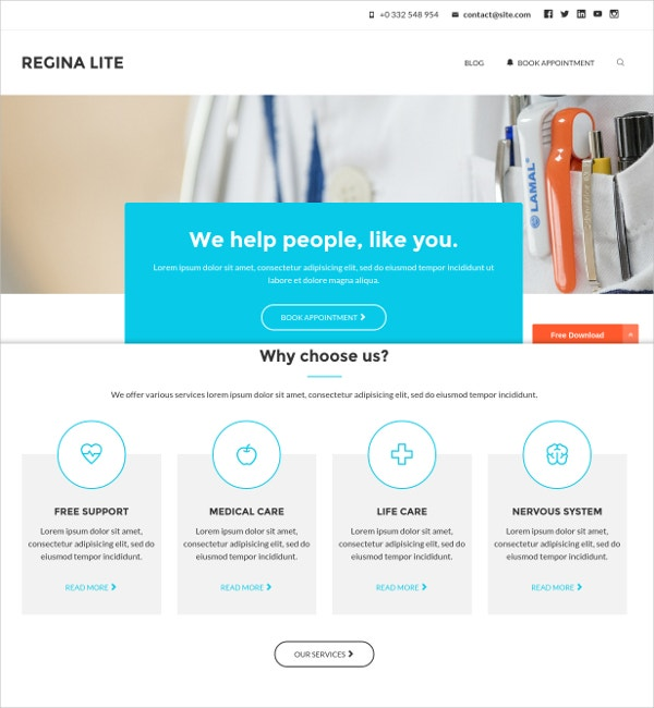Best Responsive Medical Woocommerce Theme