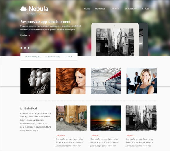design photography joomla theme
