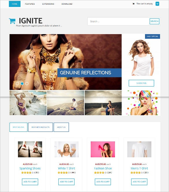 flexible photography joomla theme