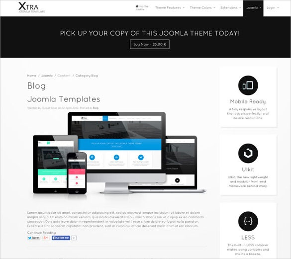multi concept photography joomla template