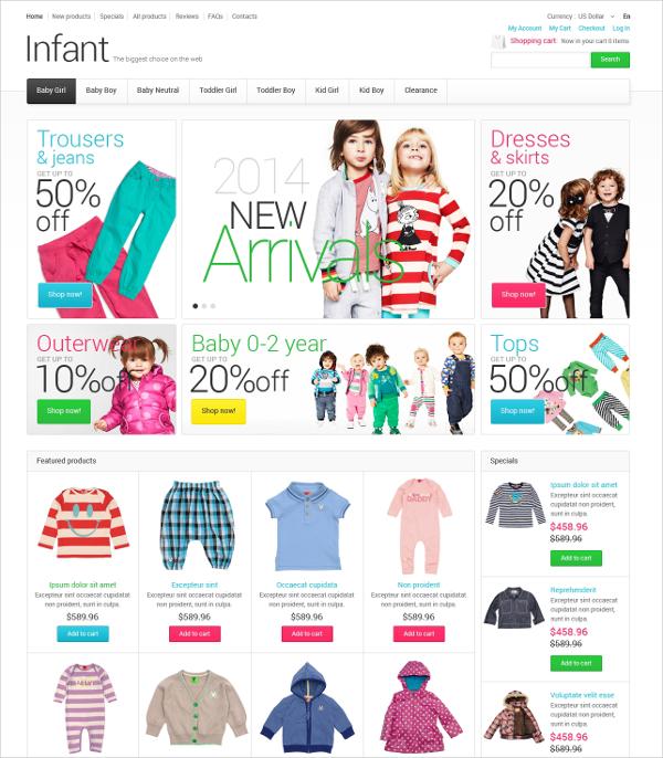 14+ Responsive ZenCart Themes & Templates | Free & Premium Templates