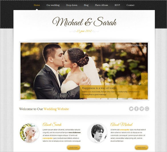 marriage responsive wedding wordpress google website theme