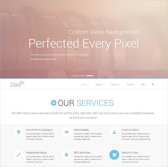 free beautiful responsive html5 theme