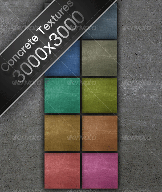 10 colored concrete high res textures
