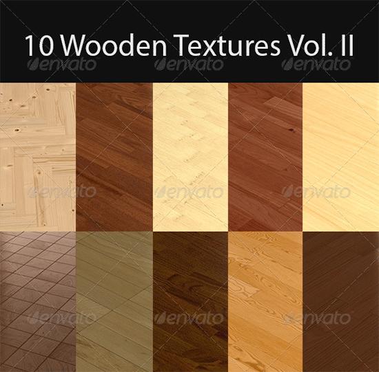 10 wooden floor tileable texture