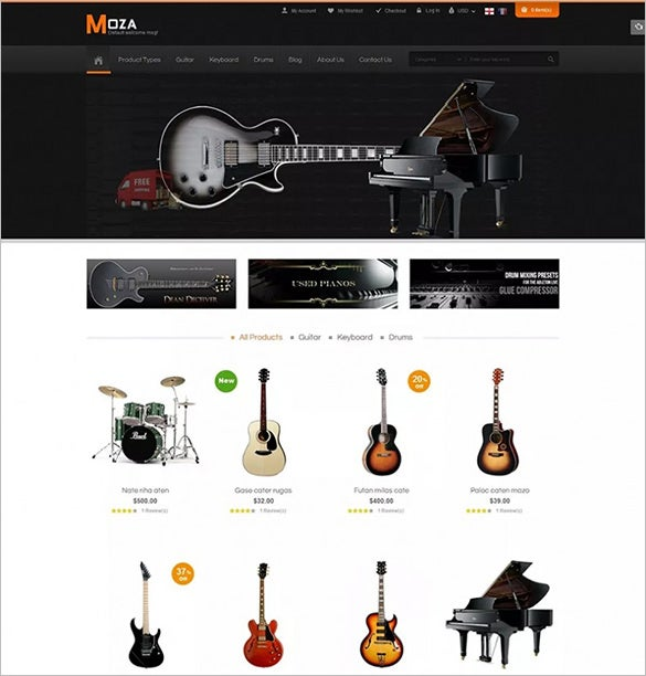 magento theme for sm moza1