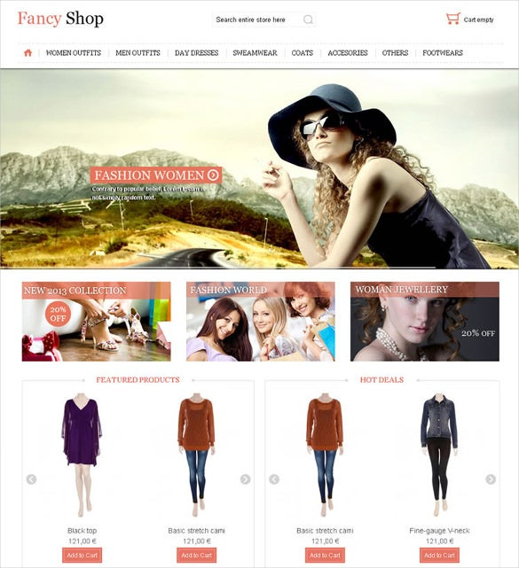 fancy shop – virtuemart responsive theme