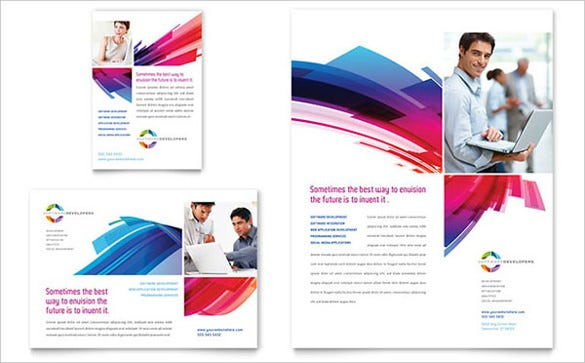 software solutions flyer ad template1