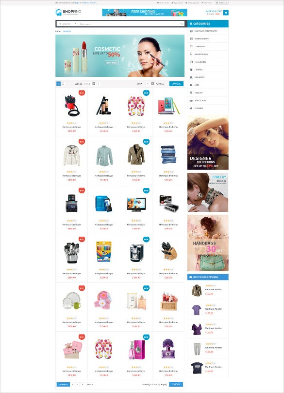 shopping woocommerce responsive wordpress theme1