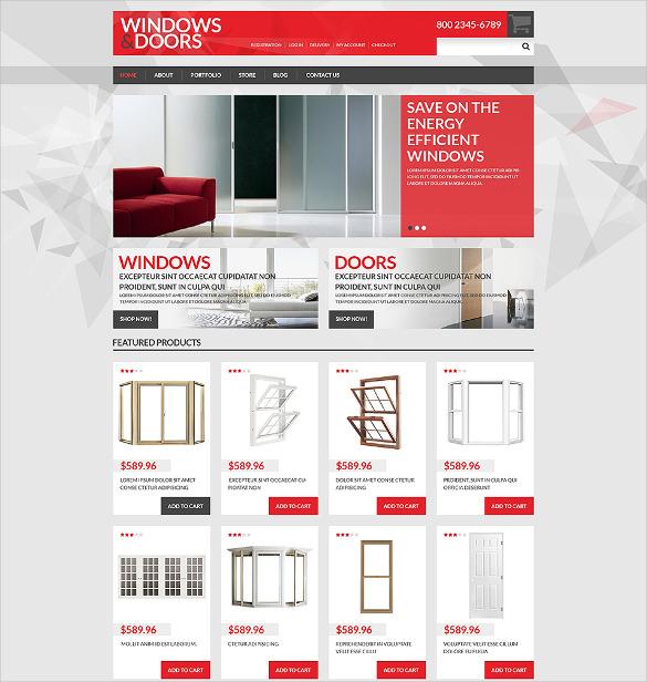 windows doors store woocommerce theme2