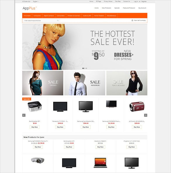 ZenCart Themes & Template