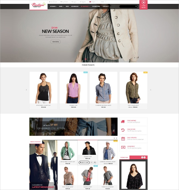 fashion clothes responsive opencart theme 48