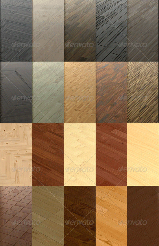 20 wooden floor tileable texture