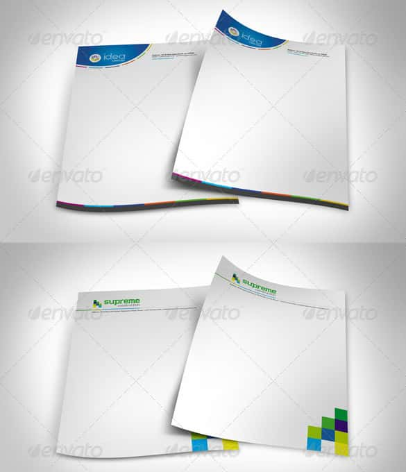 blank corporate letterheads in word format min