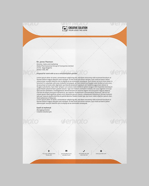 letterhead pad with ms word min