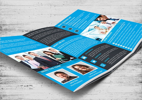 Print Ready Advertising Brochure Template