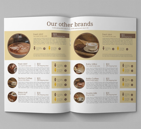 Bifold Advertising Brochure Indesign Template