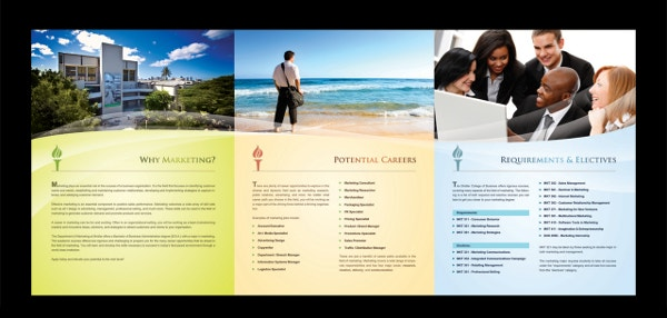 travel advertising brochure template