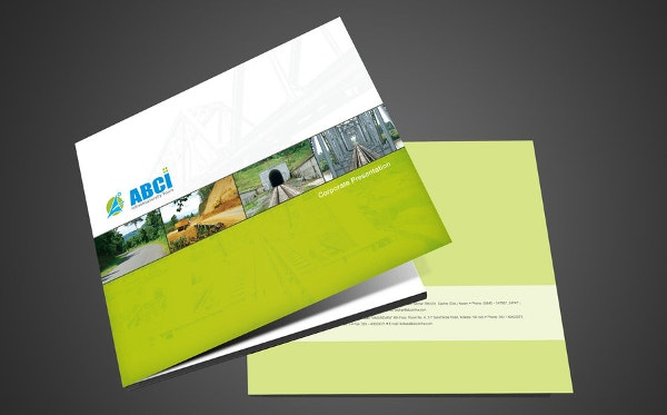 professional advertising brochure template