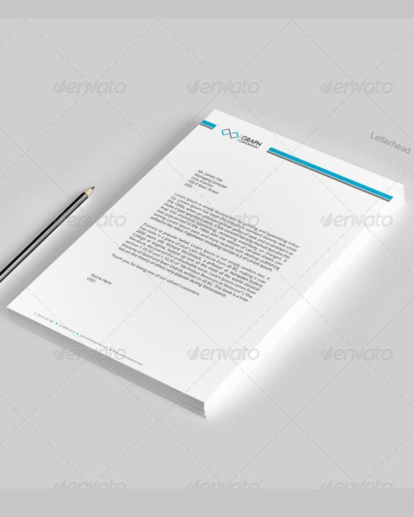 Corporate Letterhead Template Download