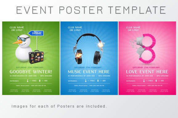 75 poster templates free psd ai vector eps format for Free downloadable poster templates