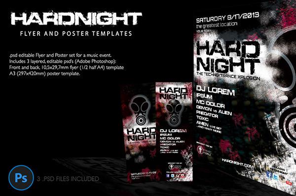 hard night poster