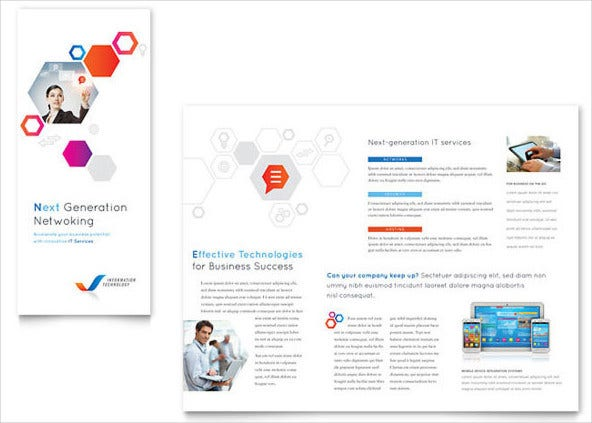 free tri fold brochure template download1