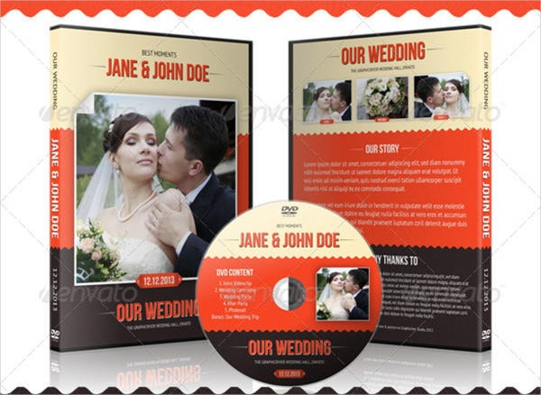 wedding dvd cover with disc label1