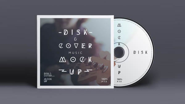 psd cd cover disk mock up1