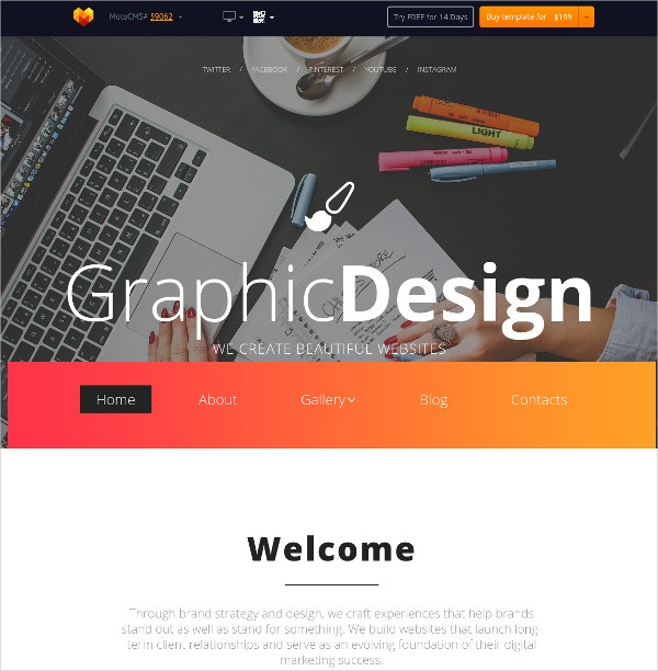 business web design flash cms theme