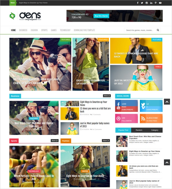 Free Attractive Travel Blog Theme