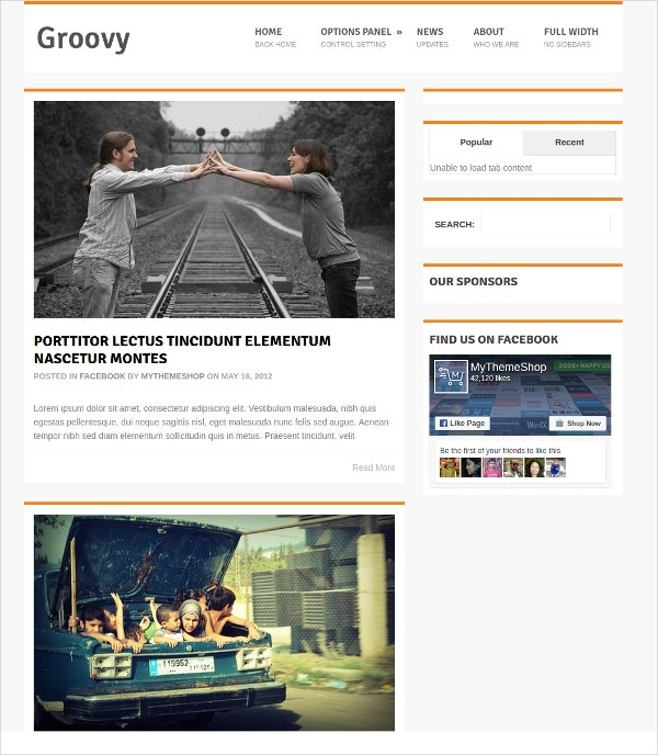 Free beautiful Magazine WordPress Blog Theme