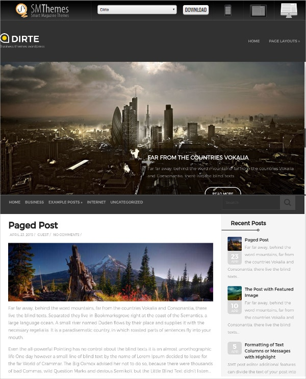 Free Professional Education WordPress Theme