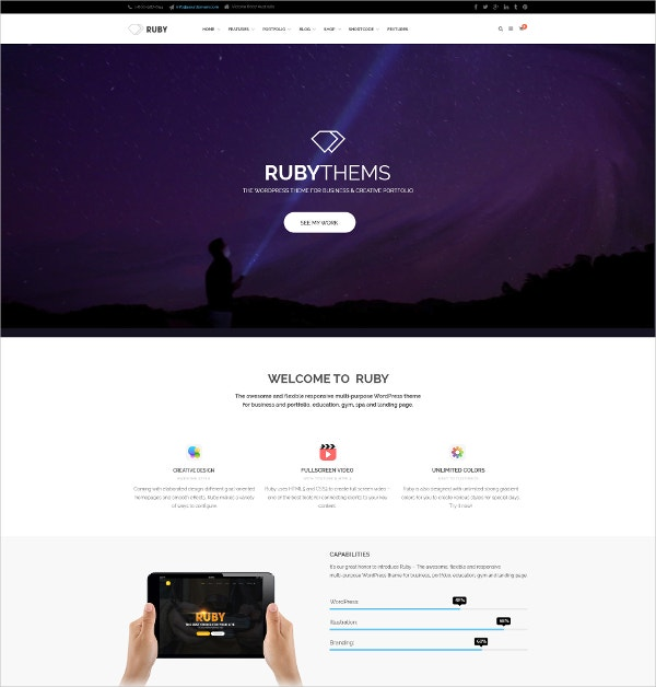 business education landing page template 12