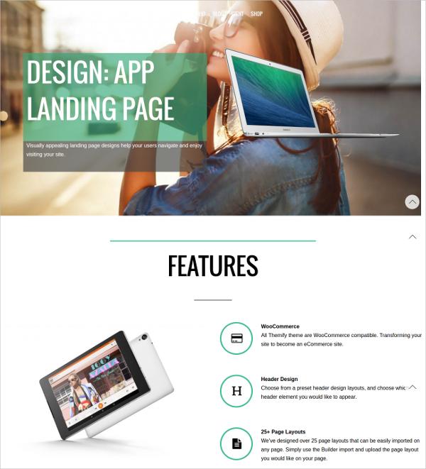 Video Portfolio Landing Page Template