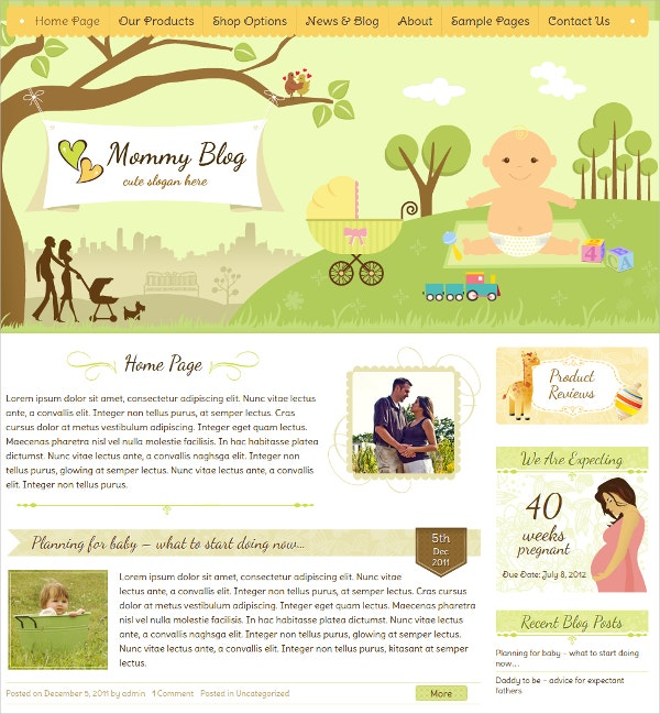 Premium Children WordPress Jigoshop Theme $59