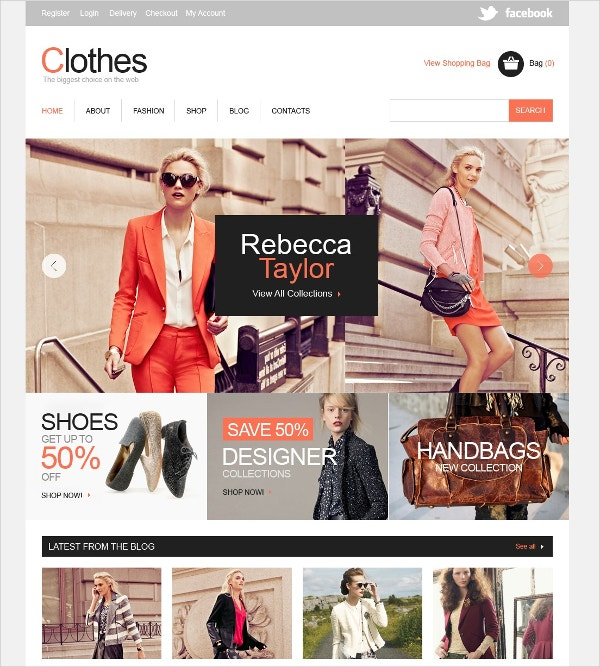 Biggest Clothe Store Jigoshop Theme $80