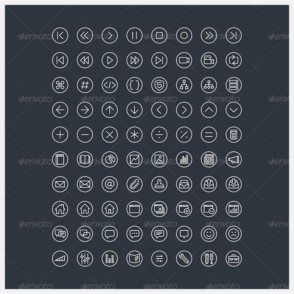 300 Fineline Icons