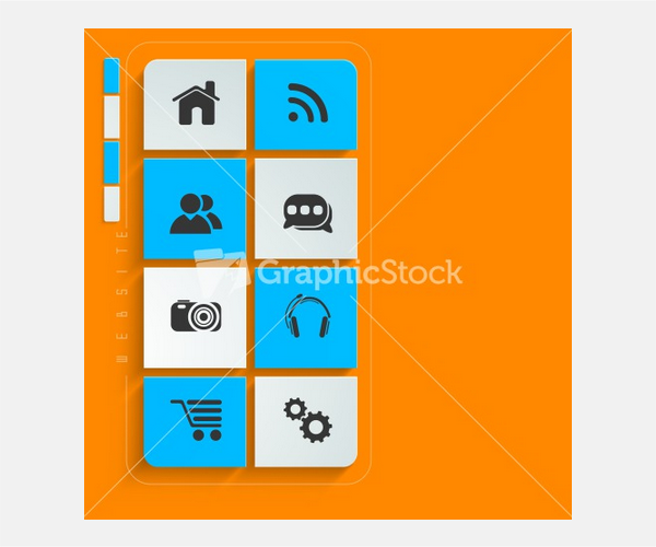 3d Web 20 Mail Icons