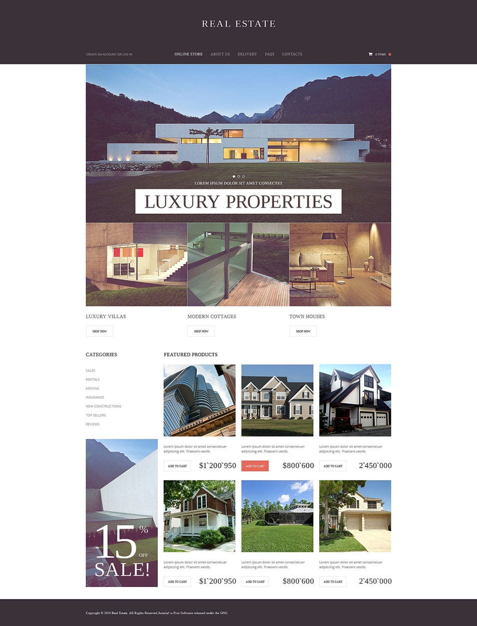 33 Real Estate Website Themes Templates Free Premium Templates
